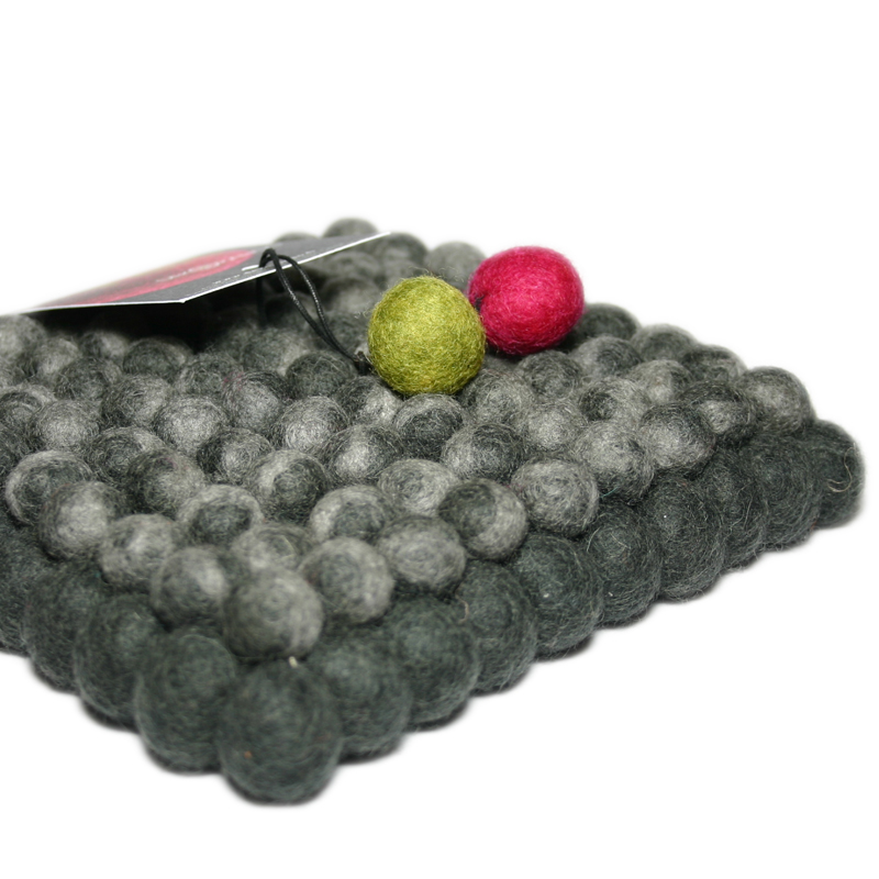 filz untersetzer dekorando graphit selexion by. Black Bedroom Furniture Sets. Home Design Ideas