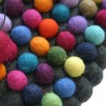 Filz Untersetzer - Dekorando - multicolor